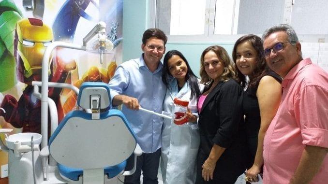 Inauguração contou com a presença do deputado Federal João Roma (PRB/BA) e a prefeita do município, Eunice Barreto.