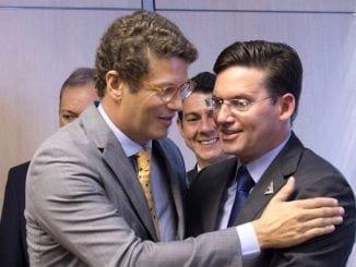 João Roma e o Ministro do Meio Ambiente Ricardo Salles