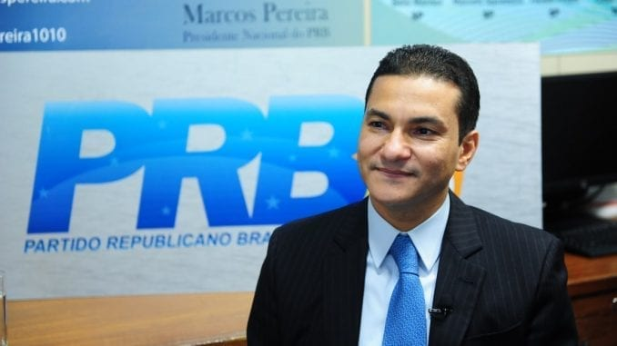 Marcos Pereira, presidente do PRB
