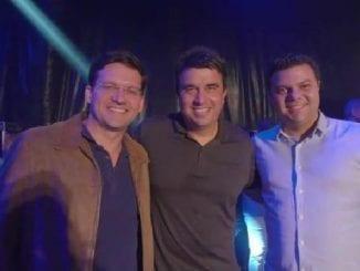 Deputados Luciano Simões e João Roma prestigiam São João em Serrinha (BA)