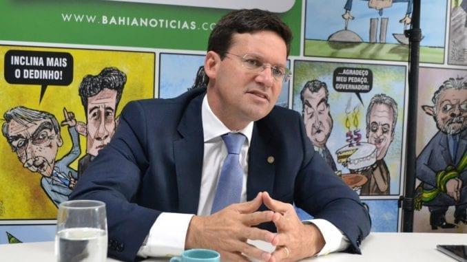 João Roma dando Entrevista para o Bahia Notícias
