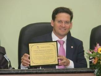 João Roma recebe título de cidadão amargosense