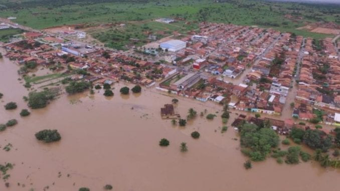 Cidade de Pedro Alexandre Alagada
