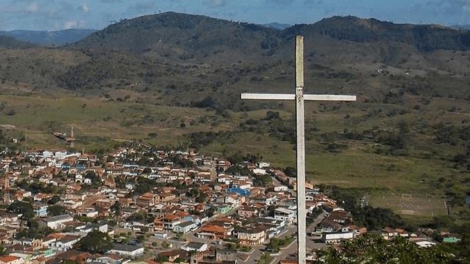 Cidade de Santa Cruz da Vitória na Bahia