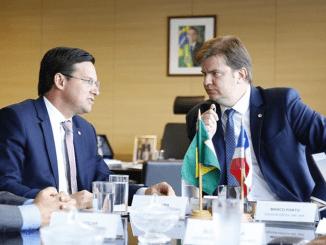 João Roma e Ministro Gustavo Canuto