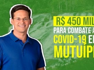 Combate ao coronavírus em Mutuípe