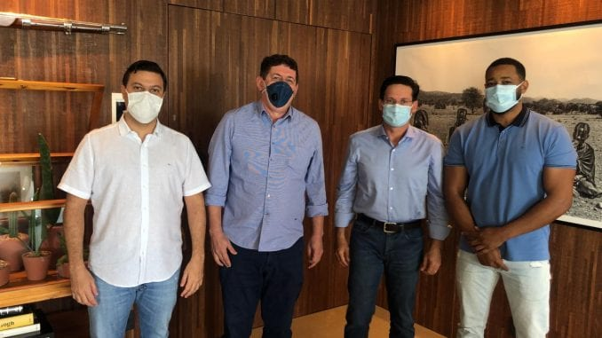 Luciano Simões, Zé Humberto, João Roma e Rodrigão.
